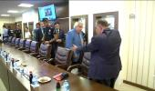 Bakan Gürcan, Avrupa Şampiyonu Milli Ampute Futbol Takımı ile Bir Araya Geldi