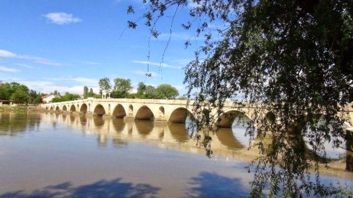 Edirne'de Tarihi Köprülere Güvenlik Kamerası