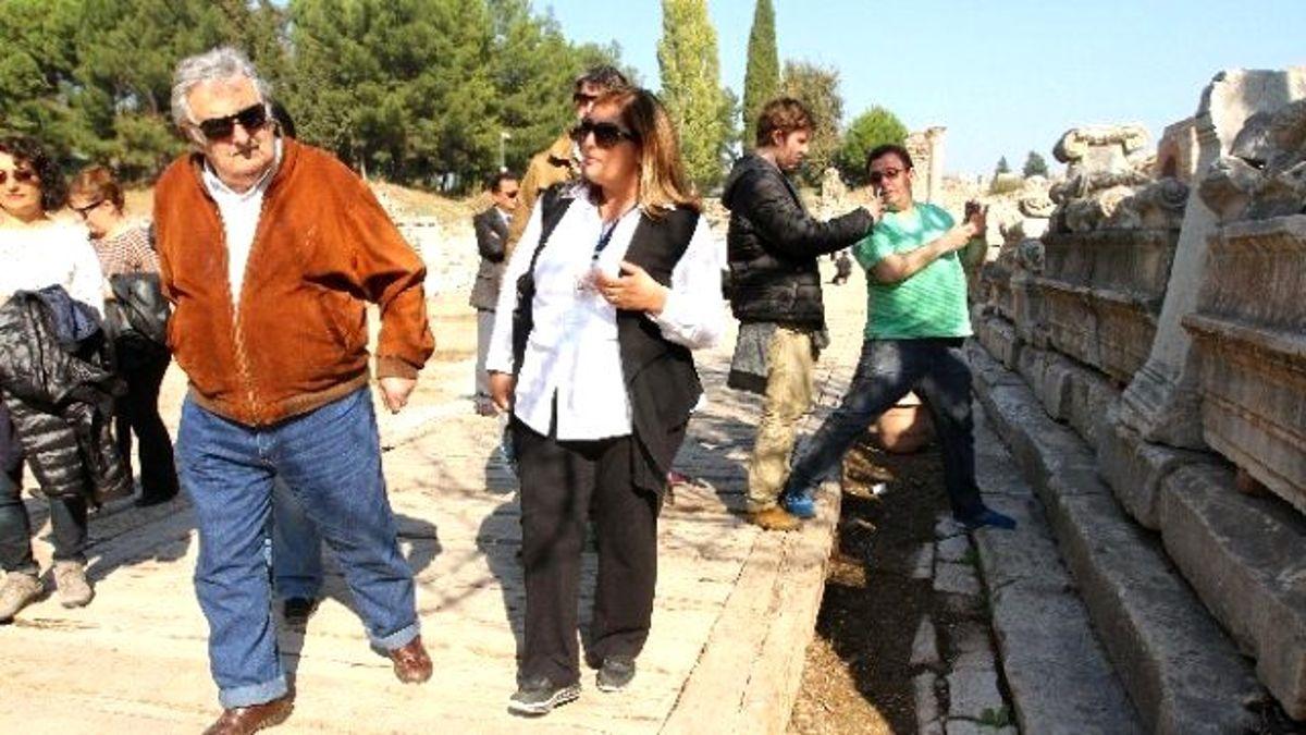 Saraysız Başkan Efes'e Hayran Kaldı