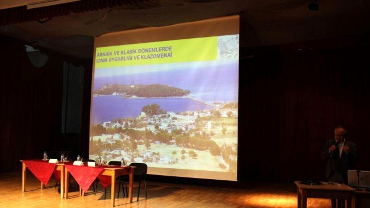 Anadolu'da Felsefeye Yolculukta Urlalı Anaksagoras Konuşuldu