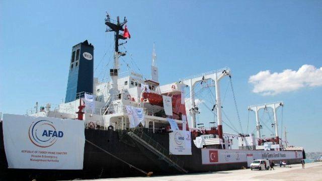İyilik Gemisi' Somali Yolunda