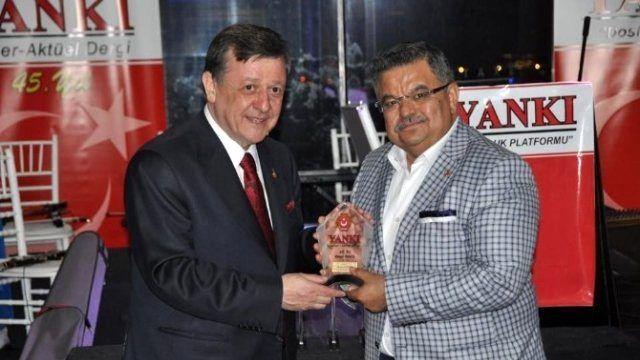 Bilecik Belediye Başkanı Yağcı'ya Bir Ödül Daha