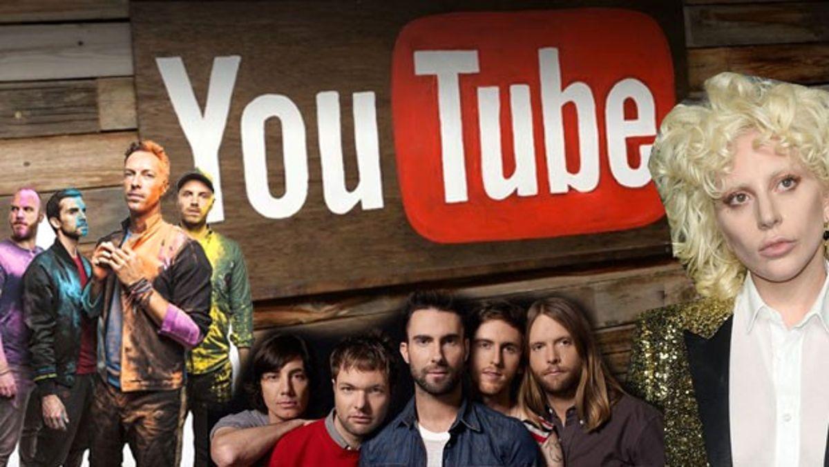 Müzisyenler Youtube'u AB'ye Şikayet Etti