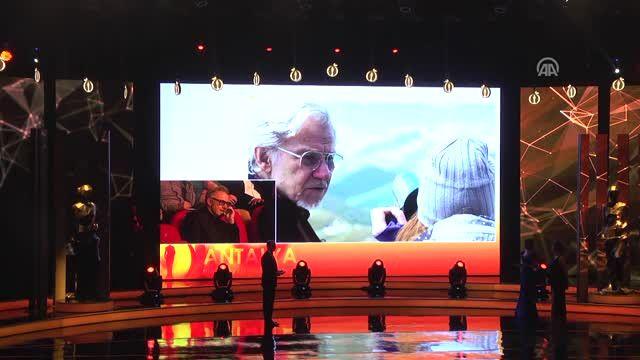 53. Uluslararası Antalya Film Festivali Kapanış Töreni - Harvey Keitel'e