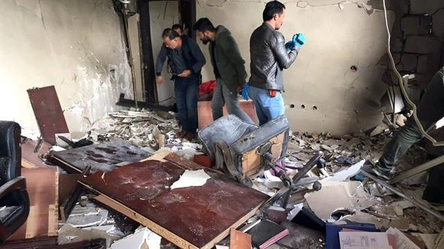 Mardin Derik'te Kaymakamlık Konutuna Saldırı! Kaymakam Yaralı