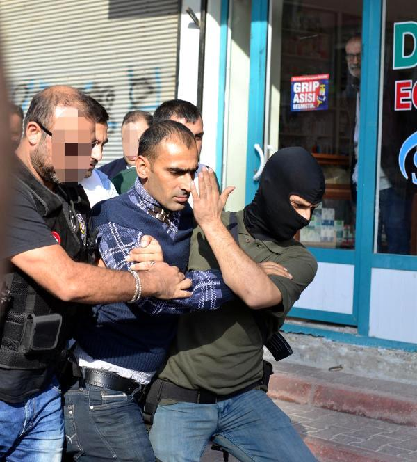 PKK'ya Adana'da Bir Milyonluk Uyuşturucu Darbesi!