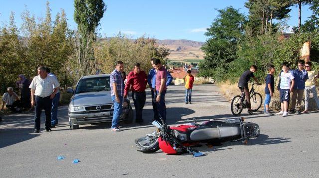 Şarkışla'da Trafik Kazası: 1 Yaralı