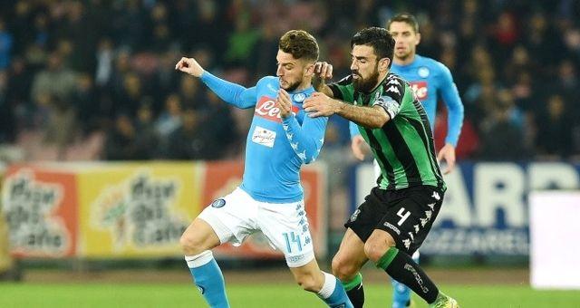 Beşiktaş'ın Rakibi Napoli, Sassuolo ile 1-1 Berabere Kaldı