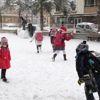 Adıyaman'da Eğitime Kar Engeli