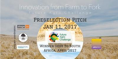 Preselection: Pitch For Global Agribusiness Of The Year 2016