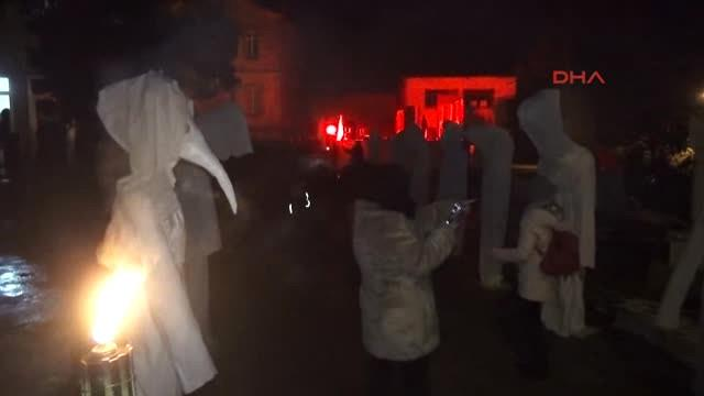 Edirne'de 'Bocuk Gecesi' Kutlandı