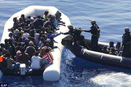 Akdeniz'de Göçmen Geçişleri