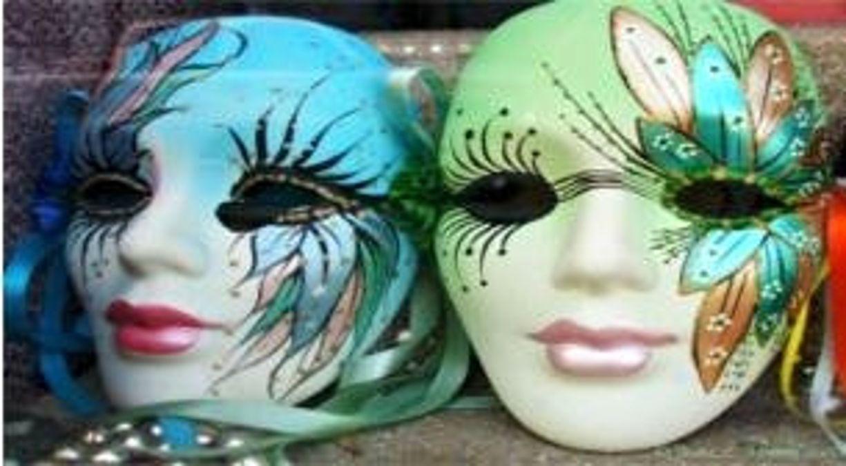 çocuk Atölyesi Seramik Mask Boyama
