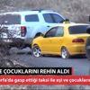Şanlıurfa Otomobilde Eşi ve Çocuklarını Rehin Aldı