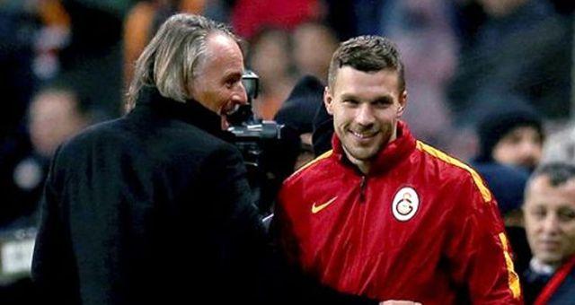 Lukas Podolski, İnstagram Üzerinden Riekerink'e Veda Mesajı Yayınladı