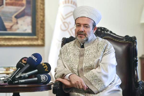 Diyanet İşleri Başkanı Görmez: İslamofobik Nefretin Seçim Atmosferlerinde Yarış Haline Getirilmesi...