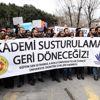 Ytü'den Khk ile İhraç Edilen Akademisyenleri Öğrencileri ve Meslektaşları Uğurladı