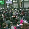 Paris'te Öğrenciler Polis ile Çatıştı