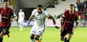 Süper Lig'de Fenerbahçe Deplasmanda Gaziantepspor ile 1-1 Berabere Kaldı