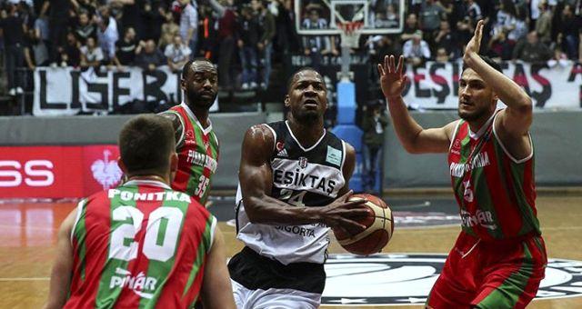 Şampiyonlar Ligi'nde Karşıyaka, Beşiktaş'ı 90-83 Yenip Çeyrek Finale Çıktı
