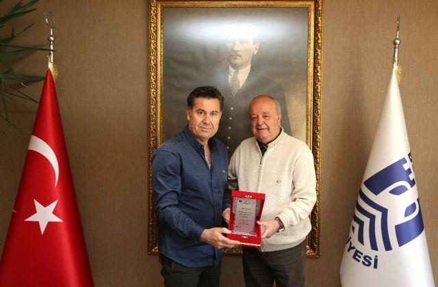 Milta Marina'dan Başkan Kocadon'a Teşekkür Plaketi