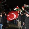 Erbakan Vakfından İsrail Konsolosluğu Önünde 'Ezan' Protestosu