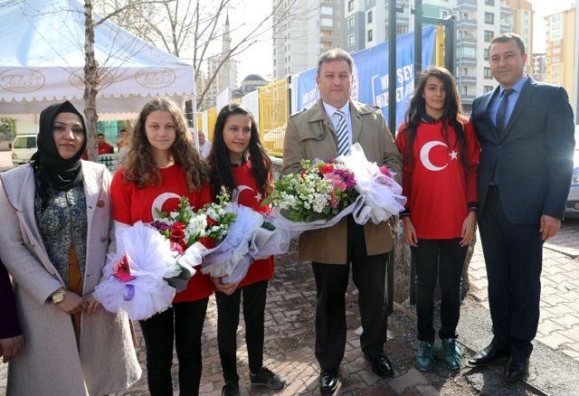 Baharın Başlangıcı Nevruz Talas'ta Coşkuyla Kutlandı