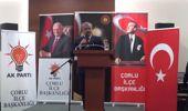 TBMM Anayasa Komisyonu Başkanı Şentop, Çorlu'da