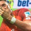 Hoffenheim'da Sandro Wagner'in İşaret Parmağı Ortadan İkiye Kırıldı