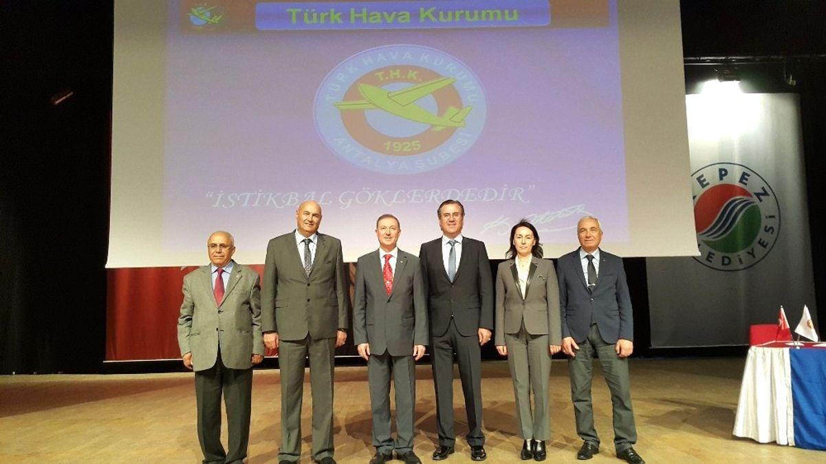 Thk Antalya Şube Başkanı Yüceliş, Güven Tazeledi