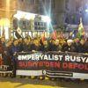 Beyoğlu'nda İdlib Protestosu