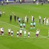 Lyon'lu ve Beşiktaşlı Oyuncular Sahaya Beraber Çıktı