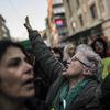 İstanbul'da Referandum Protestoları