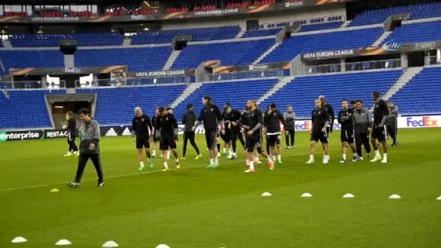 Beşiktaş, Lyon Maçı Hazırlıklarını Tamamladı