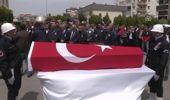 Şehit Pilot Komiser Abdullah Ortanca Son Yolculuğuna Uğurlandı