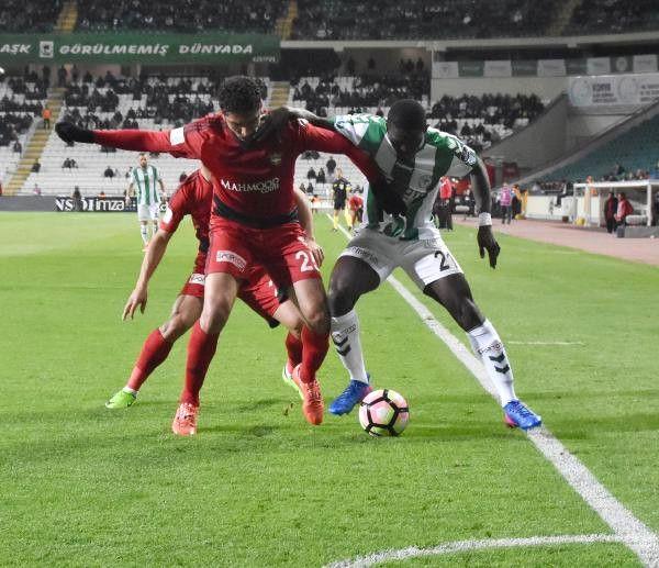Atiker Konyaspor- Gaziantepspor Maçı Fotoğrafları