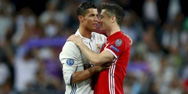Ronaldo Lewandowski'yi İstiyor!