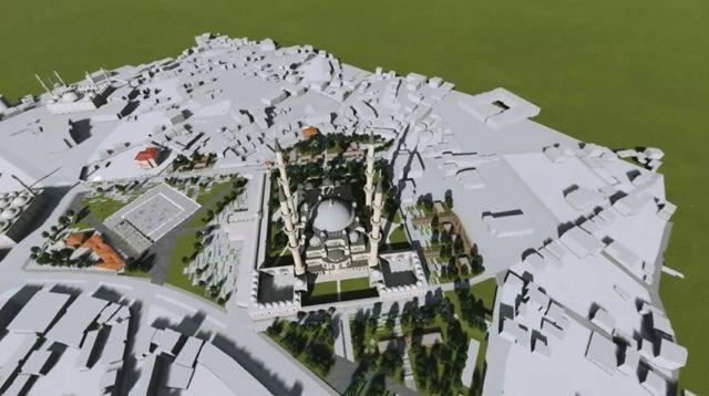 Muhteşem Selimiye'ye Muhteşem Proje