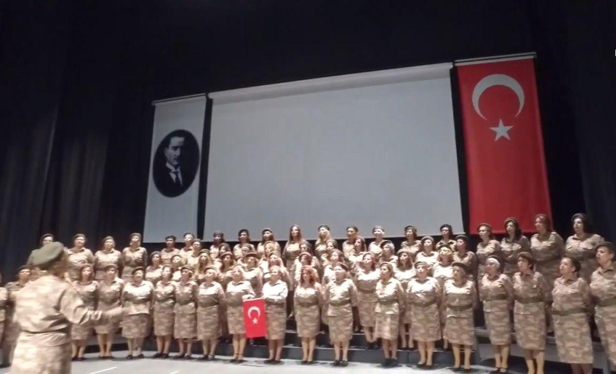Nilüfer Kadın Korosu'ndan Mehmetçiğe Anneler Günü Marşı