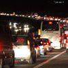 Bolu TEM'de Yol Çalışması Nedeniyle Kilometrelerce Araç Kuyruğu Oluştu