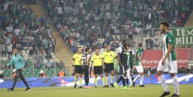 Bursa'da Olaylar Çıktı, Oyun Durdu!