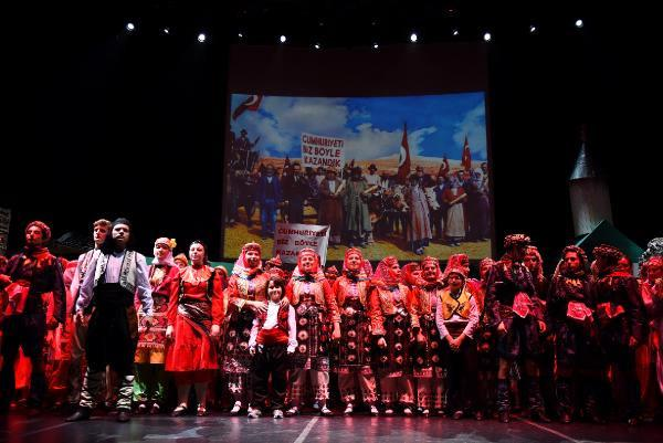 Milli Mücadele Kahramanları Anadolu Rüyası ile Yeniden Hayat Buldu
