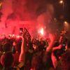 Fenerbahçe, Bağdat Caddesi'nde Şampiyonluğu Kutladı