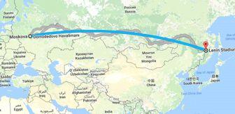 Rusya Premier Ligi'ne Yükselen Kharabovsk'un Haritadaki Yeri, Takımları Korkutuyor