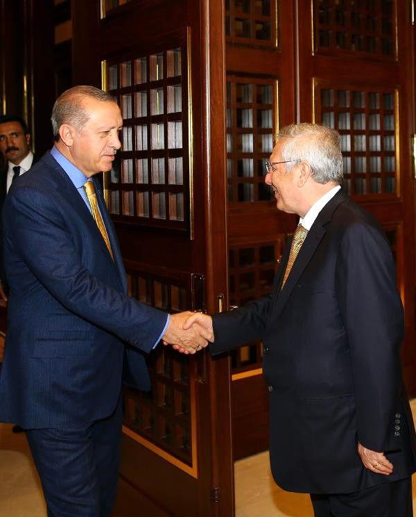Avrupa Şampiyonu Fenerbahçe'den Cumhurbaşkanı Erdoğan'a Ziyaret
