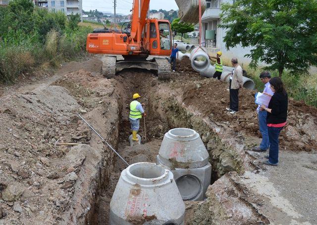 Samsun'da 4 İlçeye 25 Kilometrelik Altyapı Yatırımı