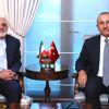 Bakan Çavuşoğlu, İranlı Mevkidaşı Zarif ile Görüştü