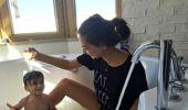 Neslihan Atagül, Son Paylaşımıyla Bebek Provası Yaptı