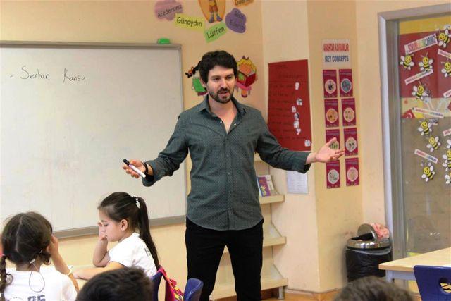 Serhan Kansu 'Kitabın Mutfağı'nda çocuklarla buluştu
