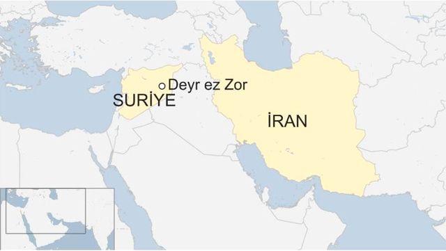 İran, Füzeyle Suriye'deki Işid Hedeflerini Vurdu